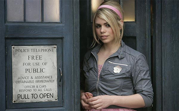 Billie Piper dans Doctor Who
