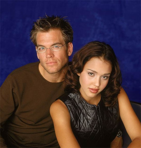 Michael Weatherly et Jessica Alba pour Dark Angel