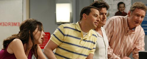 Two and a Half Men – Baseball with Better Steroids (6.24 - fin de saison)