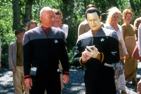 Star Trek Insurrection - Avec Insurrection, Star Trek assume mal son âge