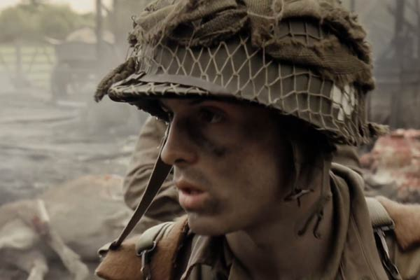 Andrew Scott dans Band of Brothers