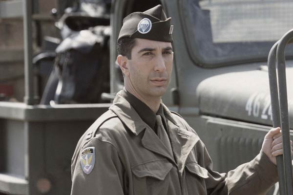 David Schwimmer dans Band of Brothers