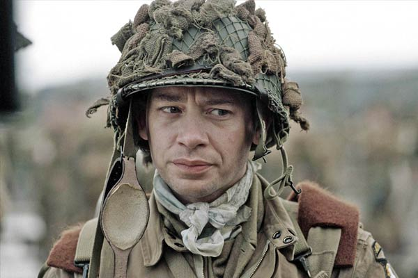 Dexter Fletcher dans Band of Brothers
