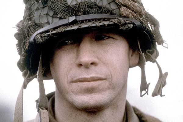 Donnie Wahlberg dans Band of Brothers