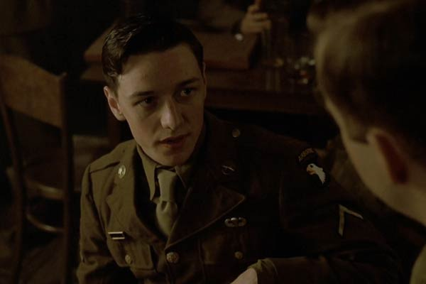 James McAvoy dans Band of Brothers