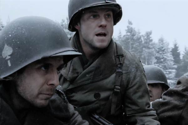 Jamie Bamber dans Band of Brothers