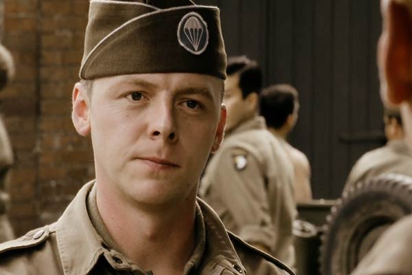 Simon Pegg dans Band of Brothers