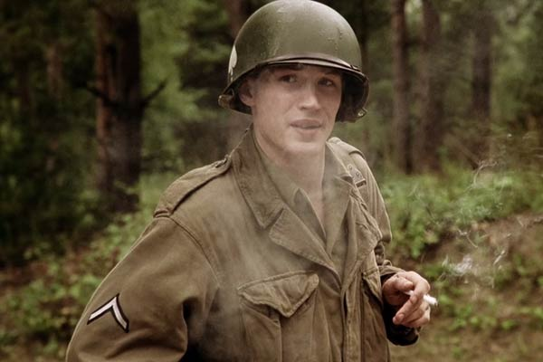 Tom Hardy dans Band of Brothers