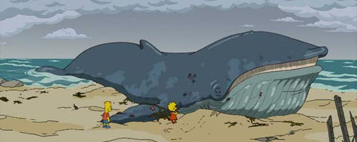 The Simpsons 21 19 - The Simpsons - The Squirt and the Whale (21.19)