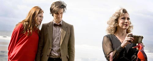Amy Pond, The Doctor et River Song