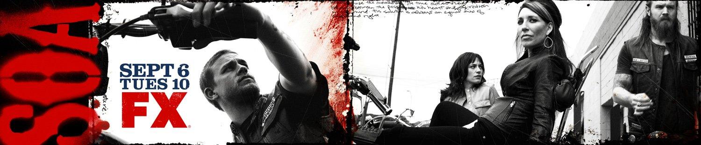 Critictoo Series FX Sons of Anarchy 5 - La rentrée s'affiche : retour sur les posters des séries de l'automne 2011