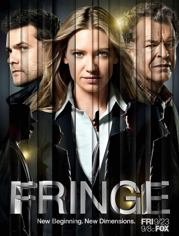 Critictoo Series FOX Fringe - La rentrée s'affiche : retour sur les posters des séries de l'automne 2011