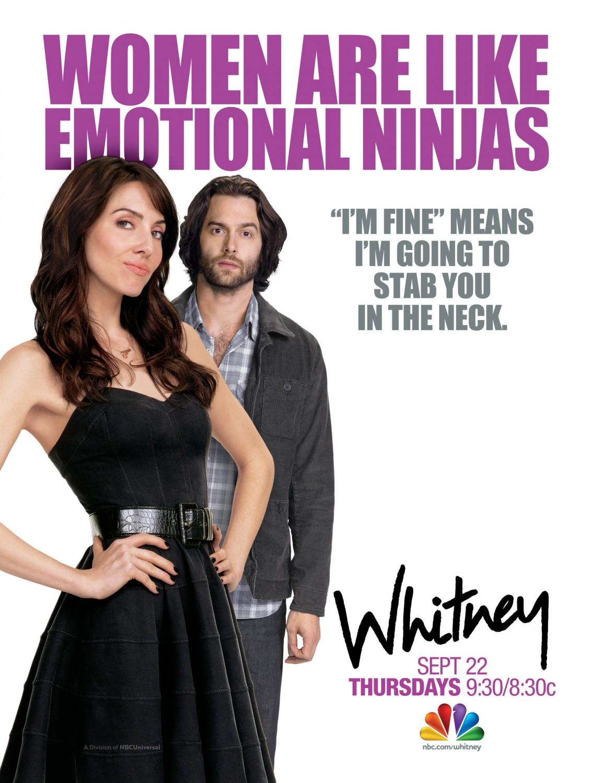 Critictoo Series NBC Whitney 1 - La rentrée s'affiche : retour sur les posters des séries de l'automne 2011