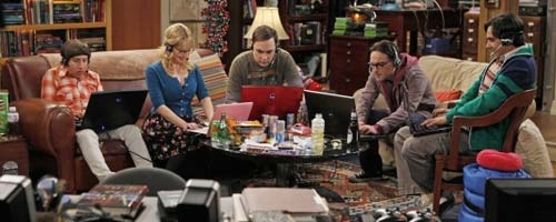 TBBT 519 - The Big Bang Theory - The Weekend Vortex (5.19)