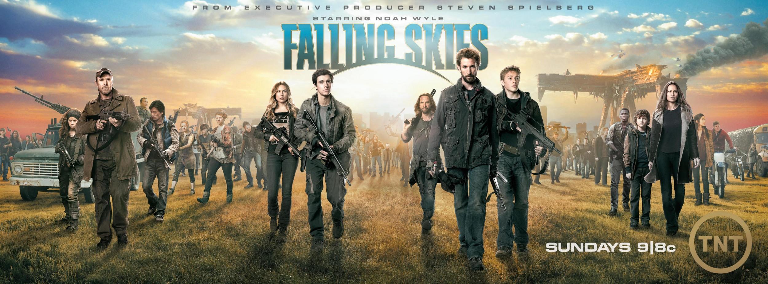 Falling Skies Saison 2 Poster 2 - Des posters pour la saison 2 de Falling Skies, dès le 17 juin sur TNT