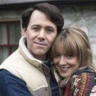 Reece Shearsmith et Sheridan Smith dans la série The Widower