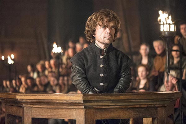 Tyrion dans Game Of Thrones - The Laws Of Gods And Me (saison 4, episode 6)