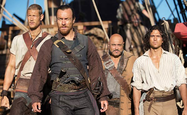 Black Sails : Des pirates bien bavards (saison 1)