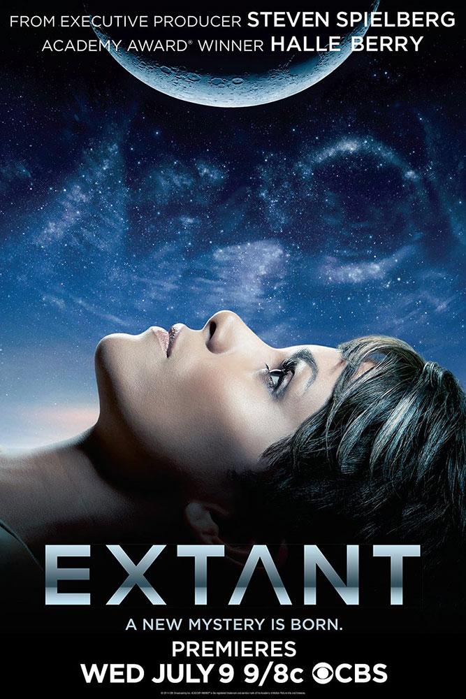 extant poster - Halle Berry s'affiche pour Extant, la nouvelle série de SF de cet été