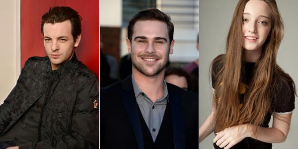 Gethin Anthony, Grey Damon et Emma Dumont