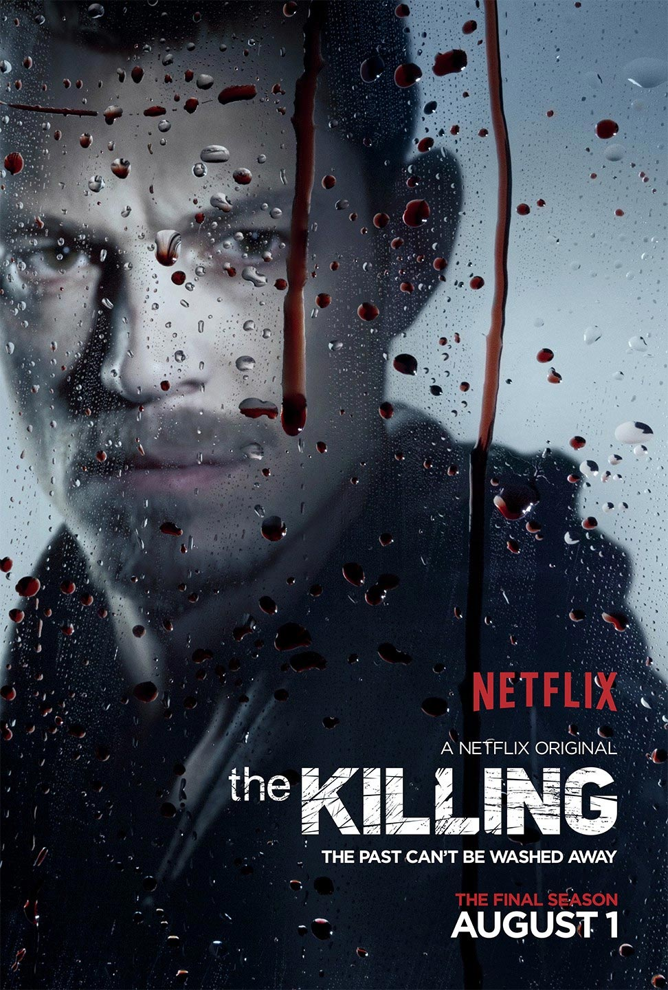 Joel Kinnaman (Holder) dans The Killing saison 4
