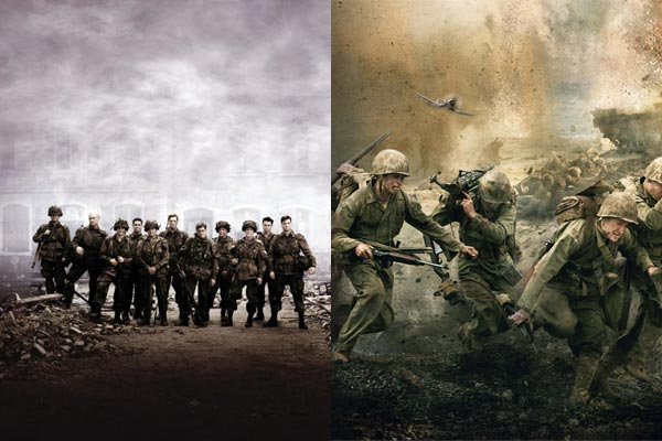 Band of Brothers et The Pacific