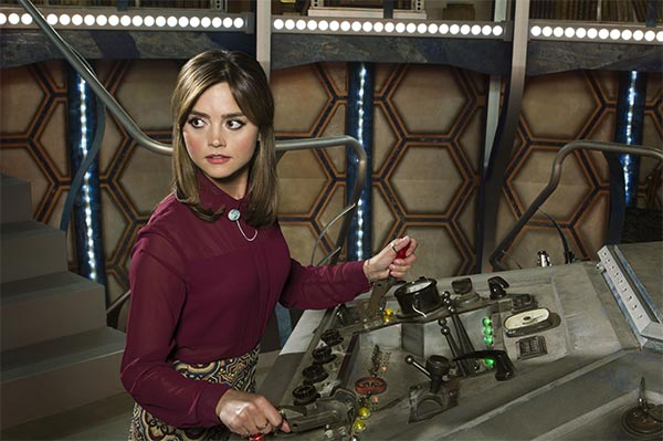 Clara dans Doctor Who saison 8 episode 1