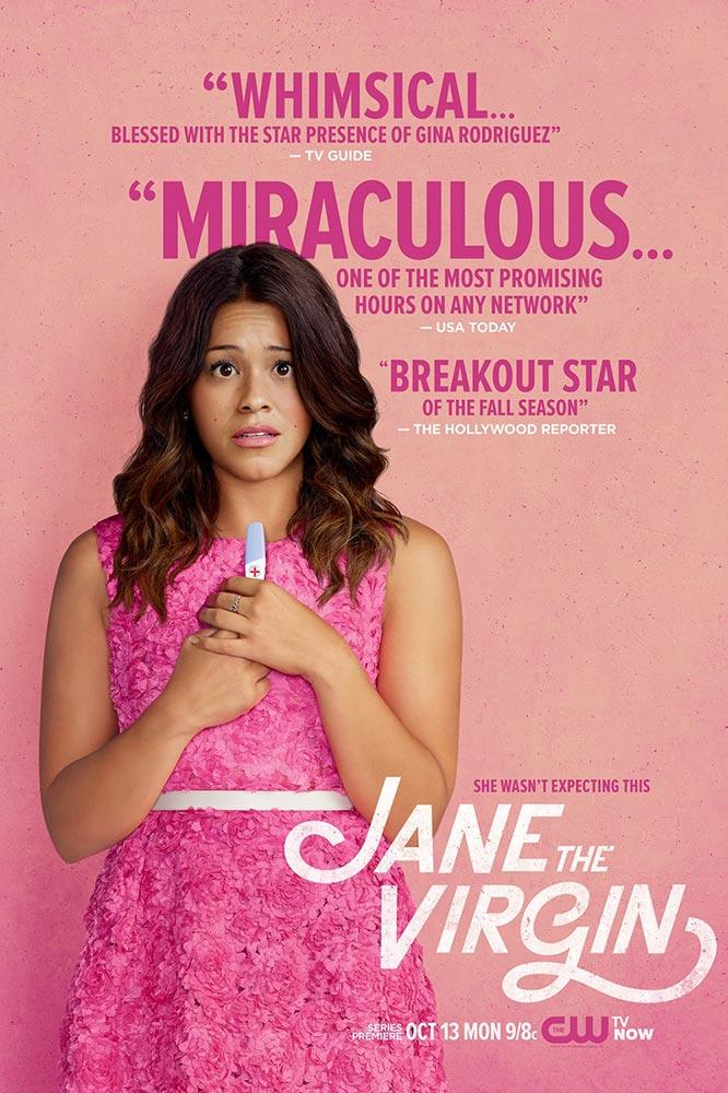 jane the virgin poster - La rentrée s'affiche : retour sur les posters des séries de l'automne 2014