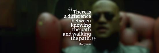 Citation de Morpheus (Matrix)