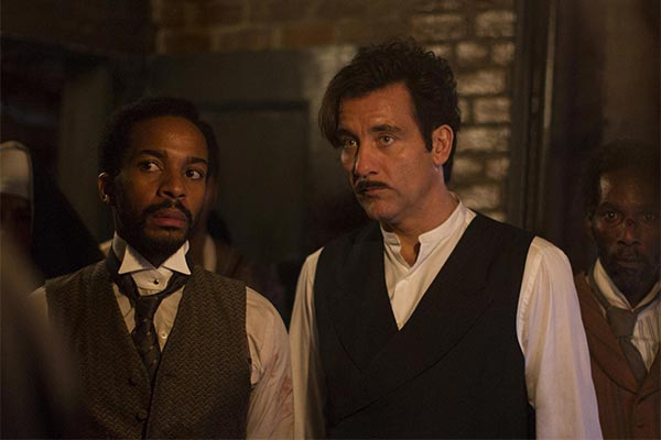 The Knick (Clive Owen et Andre Holland)