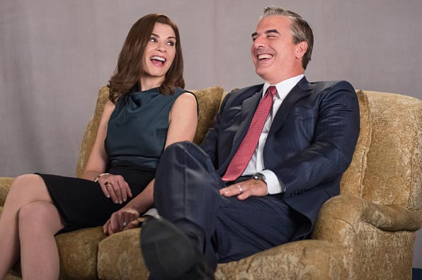 Alicia et Peter dans The Good Wife saison 6 épisode 9