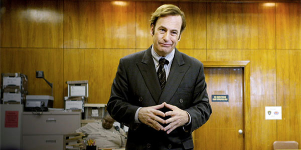 Better Call Saul Bob Odenkirk - L'agenda des séries US d'avril 2015 : Daredevil, Mad Men, Game of Thrones, Happyish, Outlander, fin de Justified et plus