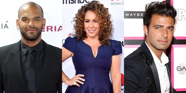 Amaury Nolasco, Diana Maria Riva et Jencarlos Canela.