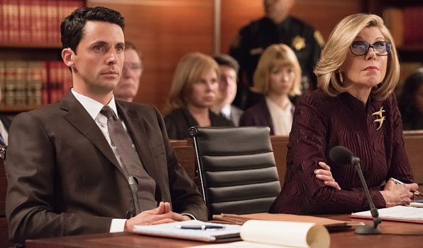 Diane et Finn dans The Good Wife saison 6 episode 15
