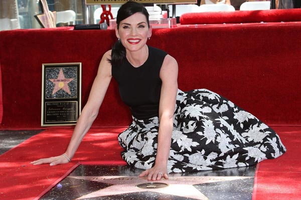 Julianna Margulies a désormais son étoile sur Hollywood Boulevard