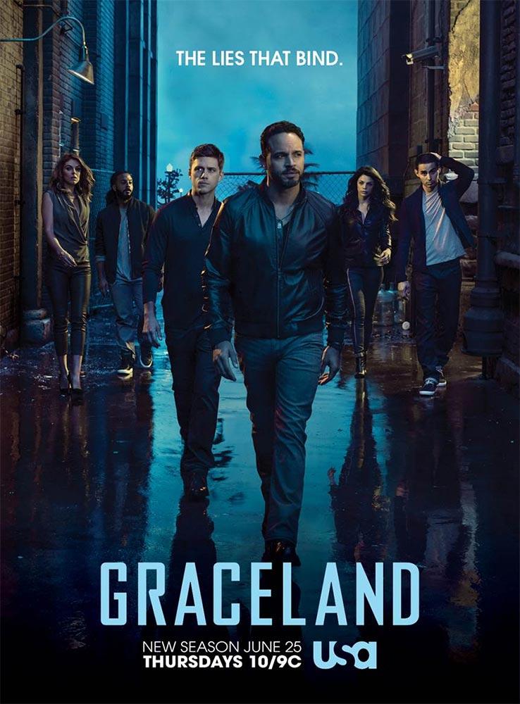 Graceland saison 3