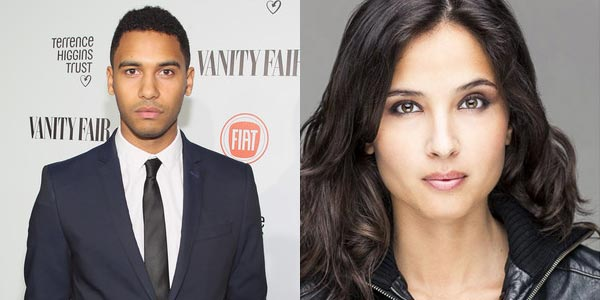 Elliot Knight et Joana Metrass