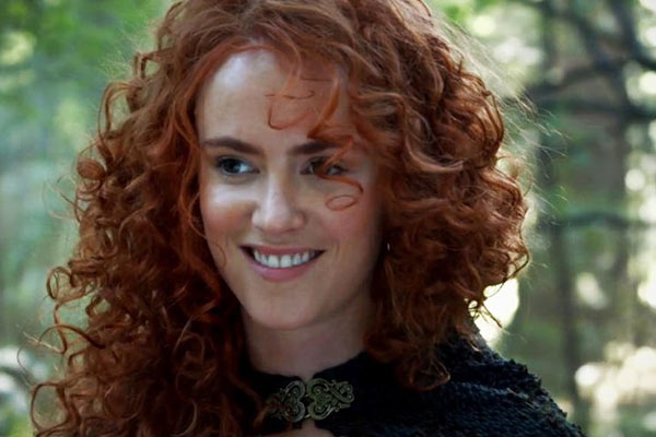 Merida Amy Manson OUAT - La rebelle Merida rejoint Once Upon a Time pendant que Dark Swan se dévoile dans un trailer