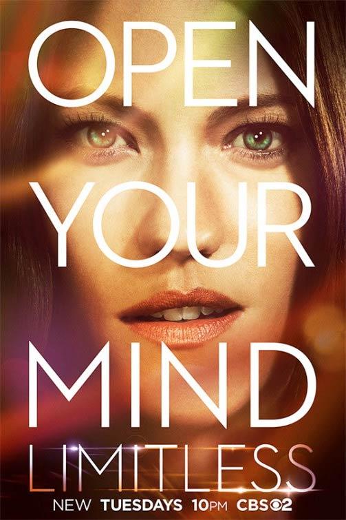 Limitless saison 1 poster 3 - Limitless nous demande d'ouvrir notre esprit sur ses nouvelles affiches