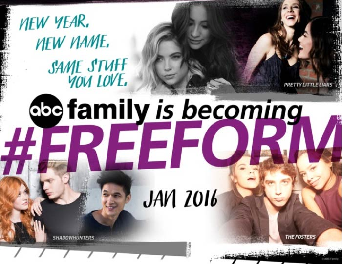 abc family freeform - ABC Family change de nom pour devenir… Freeform