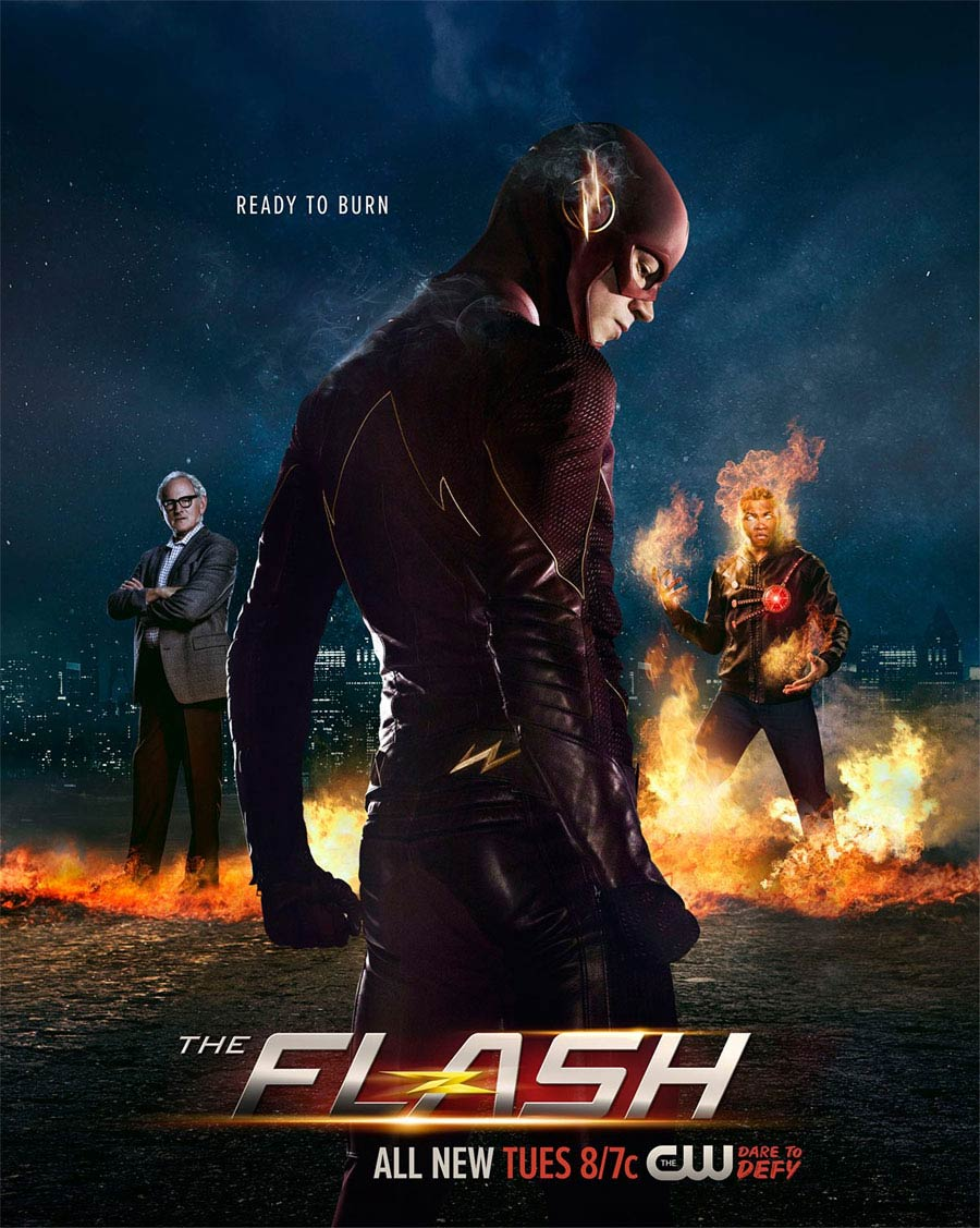 The Flash Saison 2, Poster pour Firestorm