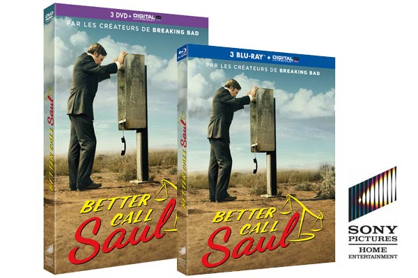 Better Call Saul BluRay DVD Concours - Gagnez 2 Blu-ray et 1 DVD de Better Call Saul Saison 1