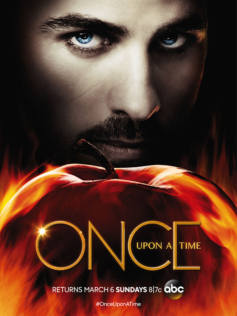 Hook - Once Upon a Time Saison 5B Poster