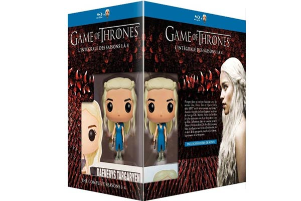 Game of Thrones Saisons 1 à 4 + figurine Pop