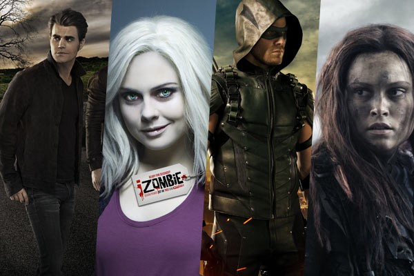 The CW - Arrow, iZombie, The Vampire Diaries, The 100