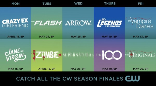 The CW - Season Finales