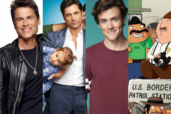 The Grinder, Grandfathered, Bordertown et Cooper Barrett