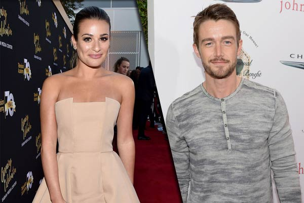 Lea Michele et Robert Buckley