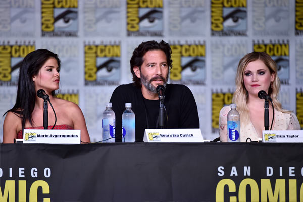 The 100 à la Comic Con de San Diego