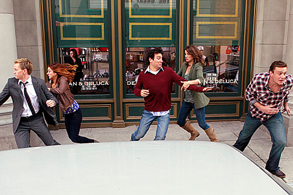 how i met your mother the subway wars